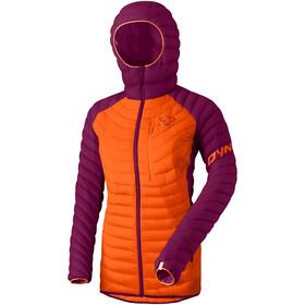 Dynafit Radical Dunjakke med hætte Damer, violet/orange